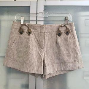 BCBG max azria striped shorts 2
